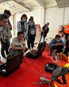 天津高新支队与天津城建大学控制与机械工程学院开展党团共建活动