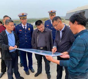 天津宁河支队联防联控 力保七里海湿地消防安全